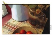 Farmhouse Fruit And Flowers Carry-all Pouch