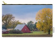 Farmstead With Fall Colors Carry-all Pouch by Paul Freidlund