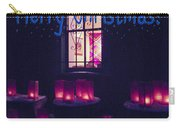Farolitos Or Luminaria Below Window 2-2 Carry-all Pouch