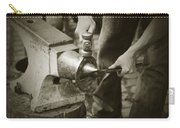 Farrier Making Horseshoe Carry-all Pouch