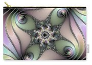 Fascinating Fractal Spirals Beautiful Metallic Colors Carry-all Pouch