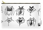 Fashion Cravats And Ties Carry-all Pouch