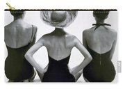 Fashion Models In Swim Suits, 1950 Carry-all Pouch