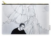 Fashion On A Hill Carry-all Pouch by Sarah Parks