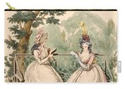 Fashion Plate Of Ladies In Summer Day Carry-all Pouch