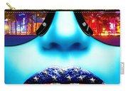 Fashionista Miami Blue Carry-all Pouch