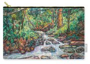 Fast Water Wildwood Park Carry-all Pouch by Kendall Kessler