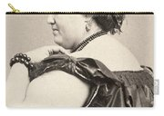 Fat Lady, 19th Century Carry-all Pouch