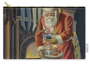 Father Christmas Filling Children's Stockings Carry-all Pouch