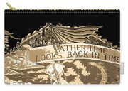 Father Time Looks Back Carry-all Pouch