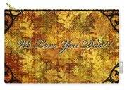 Father's Day Greeting Card Iv Carry-all Pouch