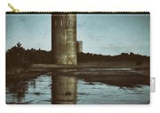 Fct3 Fire Control Tower Reflections In Sepia Carry-all Pouch
