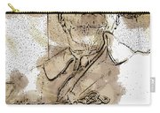 Fdr - 3164 Brown Water Sketch Carry-all Pouch