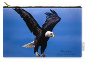 Fearsome Bald Eagle Carry-all Pouch