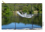 Feather And Fence Carry-all Pouch