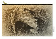 Feather And Leaf Carry-all Pouch