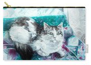 Feather Belle Carry-all Pouch