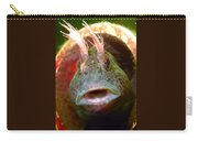 Feather Blenny - A Fish  Carry-all Pouch