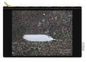 A Feather On A Beach Carry-all Pouch