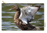 Feather Spread - Female Mallard Carry-all Pouch