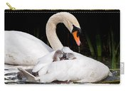 Feather Sunshade Square Carry-all Pouch