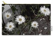 Feathered Daisy  Carry-all Pouch