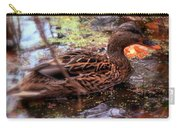 Feathers In Autumn Carry-all Pouch