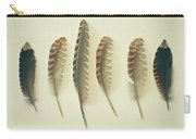 Feathers No2 Carry-all Pouch