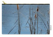 February Cattails Carry-all Pouch