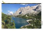 Fedaia Pass With Lake Carry-all Pouch