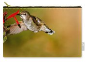 Feeding Anna's Hummingbird Carry-all Pouch