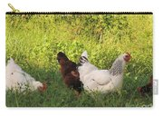Feeding Chickens Carry-all Pouch
