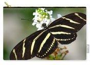 Feeding Zebra Butterfly Carry-all Pouch