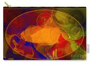 Feeling At Home With Uncertainty Abstract Healing Art Carry-all Pouch