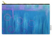 Feeling Blue Abstract Carry-all Pouch