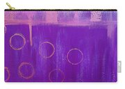Feeling Purple Abstract Carry-all Pouch