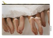 Feet In Bed Carry-all Pouch