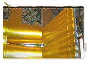 Feet Of Reclining Buddha In Wat Po In Bangkok-thailand Carry-all Pouch