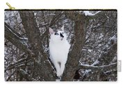 Felis Silvestris Catus In Winter Carry-all Pouch