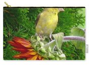 Female American Goldfinch Carry-all Pouch