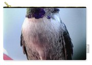 Female Anna With Purple Blue Throat Carry-all Pouch