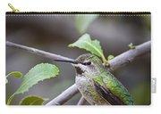 Female Anna's Hummingbird Carry-all Pouch