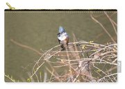 Female Belted Kingfisher Carry-all Pouch