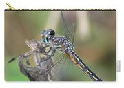 Female Blue Dasher In July  Carry-all Pouch