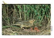 Female Bobolink At Nest Carry-all Pouch