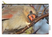 Thorns And Berries - Cardinal Carry-all Pouch