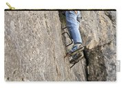 female climber on Via Ferrata Carry-all Pouch