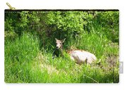 Female Deer Resting Carry-all Pouch