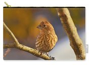 Female Housefinch Carry-all Pouch