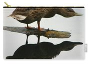 Female Mallard Duck  Carry-all Pouch